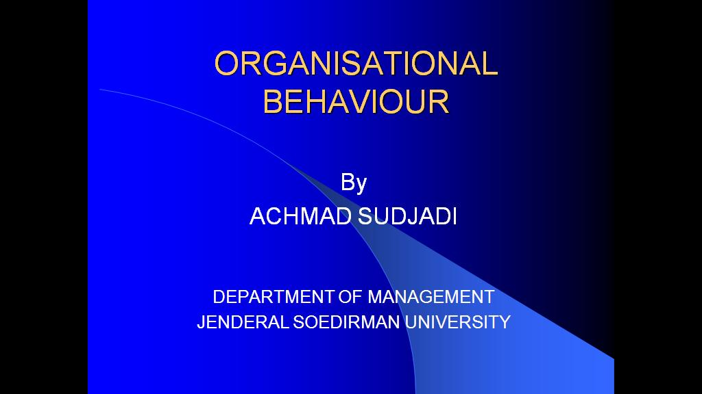 organisational behavioure Organisational behaviour is a field of study that investigates the impact that individuals, groups and structure have on behaviour within the organisations for the purpose of applying such knowledge toward improving an organization's effectiveness—stephens p robbins.